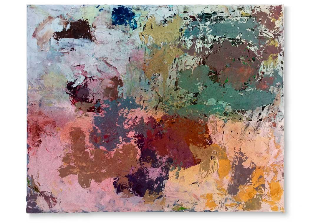 Oil and acrylics on canvas - 80x100 cm