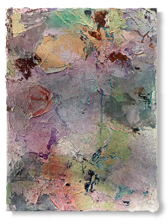 Oil and acrylics on canvas - 40x30 cm
