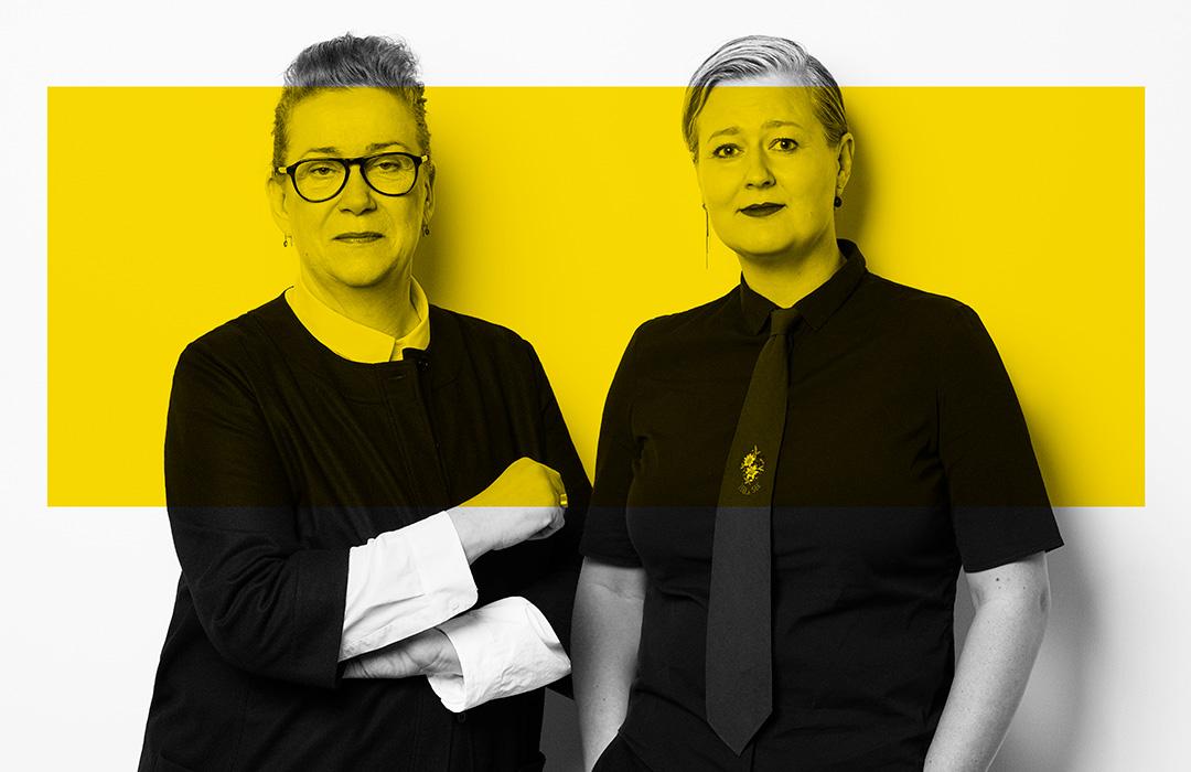 Ann Marie Knudsen og Trine Runge Jessen